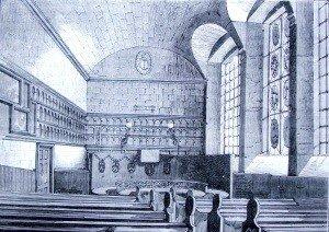 Magdelen Chapel interior